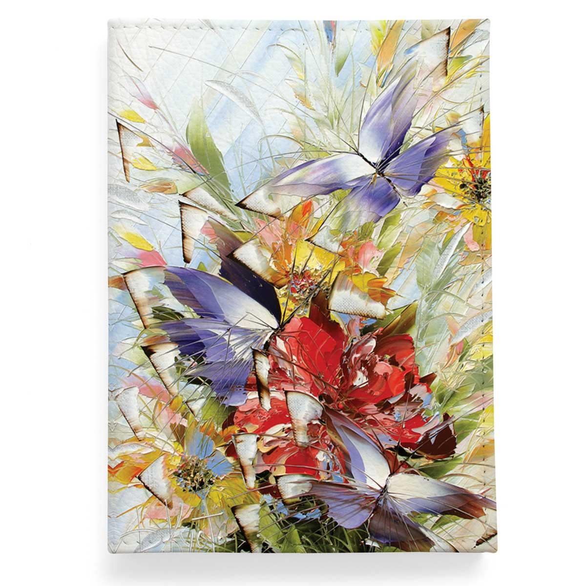 Обложка для паспорта по картине Дмитрия Кустановича из серии «Бабочки»