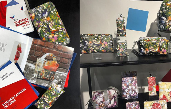 Paris Fashion Week: сумки и аксессуары с иллюстрациями картин Дмитрия Кустановича