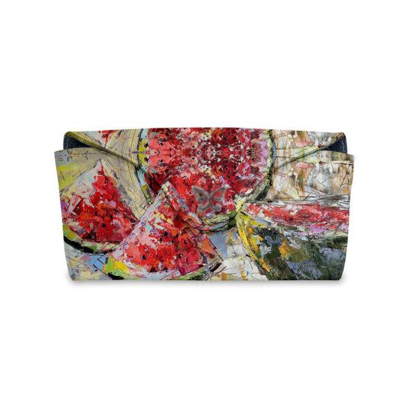 Очечник для паспорта по картине Дмитрия Кустановича «Солнечный арбуз»