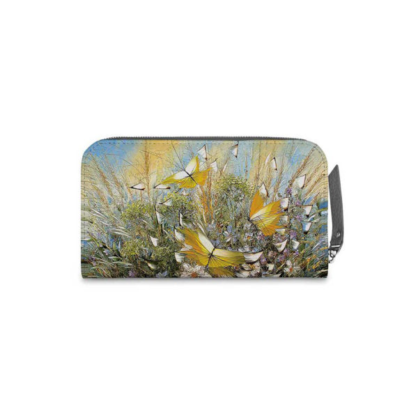 Кошелёк по картине Дмитрия Кустановича «Полет над цветами и травами»