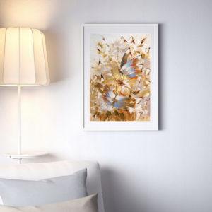 Репродукция по картине Дмитрия Кустановича из серии «Бабочки»
