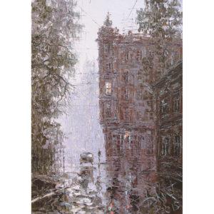 Дмитрий Кустанович «Раннее утро в Петербурге»