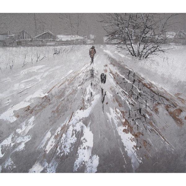 Дмитрий Кустанович «Путник с собакой»