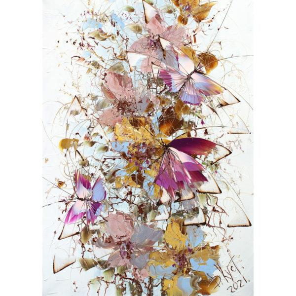 Художник Дмитрий Кустанович. Из серии «Бабочки»