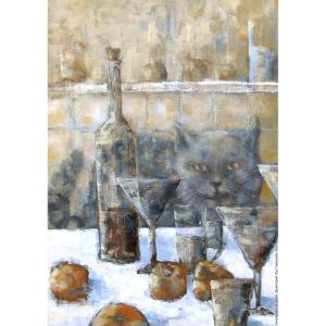 Дмитрий Кустанович «Кот на кухне»