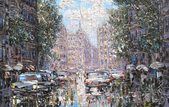 Городской пейзаж. История жанра
