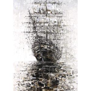 Репродукция по картине Дмитрия Кустановича «Вдохновленный дождями»