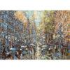 Репродукция по картине Дмитрия Кустановича «Летний дождь в Петербурге»