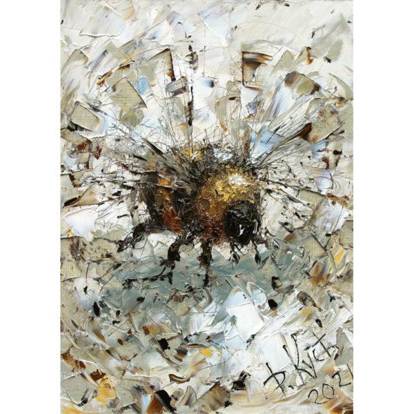Репродукция по картине Дмитрия Кустановича «Полет шмеля»