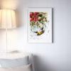 Репродукция по картине Дмитрия Кустановича из серии «Бабочки» в интерьере